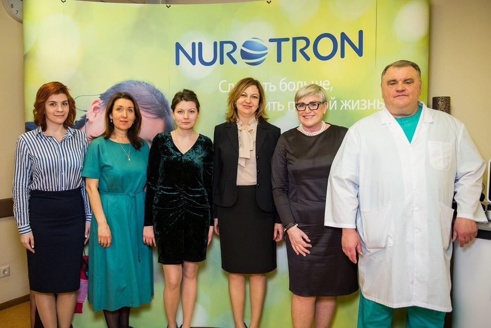 Опыт применения системы кохлеарной имплантации Nurotron в России